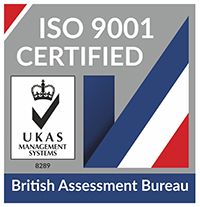 BS EN ISO 9001:2008 certificated