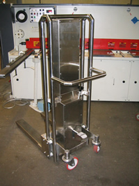 Stainless Steel Pallet Lifter